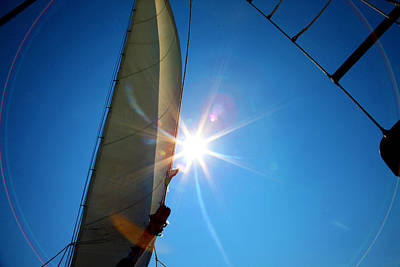 Sail Shine By Jan Marvin Studios Art Print