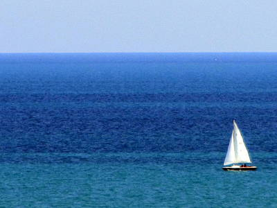 Photograph - Sailboat 1 by Anita Burgermeister