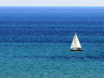 Photograph - Sailboat 2 by Anita Burgermeister