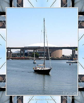 Photograph - Sailboat At Erie Basin Marina In Buffalo New York by Rose Santuci-Sofranko