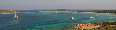 Sailboat In The Sea, Capo Coda Cavallo Art Print