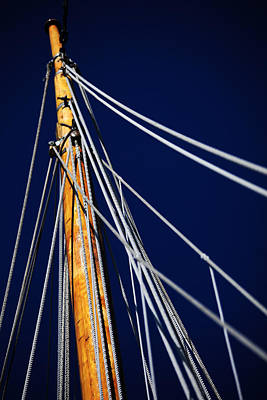 Photograph - Sailboat Lines by Karol Livote