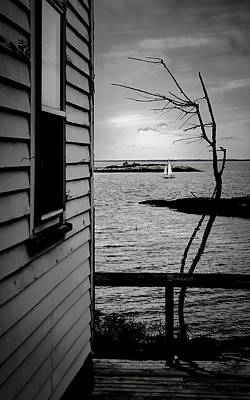 Photograph - Sailboat Off Star Isle by Thomas Lavoie
