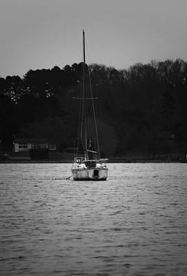 Photograph - Sailboat On The Water by Sharon Popek