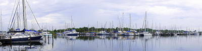 Photograph - Sailboat Pano by Laurie Perry