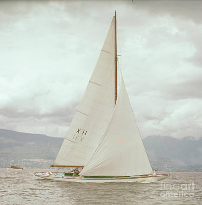 Photograph - Sailboat by Vintage Photography