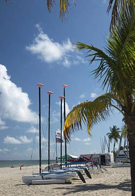 Photograph - Sailboats Florida by Bob Pardue