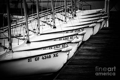 Sailboats In Newport Beach California Picture Art Print by Paul Velgos