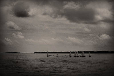 Photograph - Sailboats by Kelly Hazel