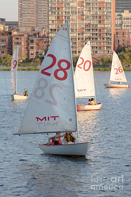 Photograph - Sailboats On The Charles River I by Clarence Holmes