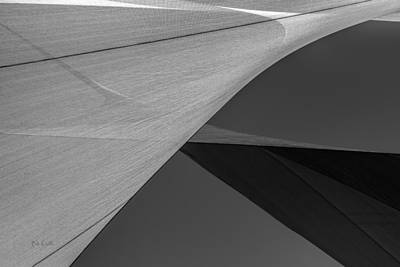 Photograph - Sailcloth Abstract Number 9 by Bob Orsillo