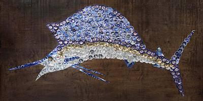 Sailfish Mixed Media - Sailfish #1 by Kay Galloway