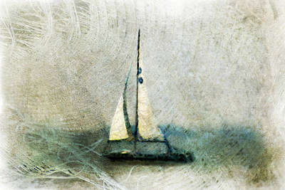 Mixed Media - Sailin' With Sally Starr by Trish Tritz