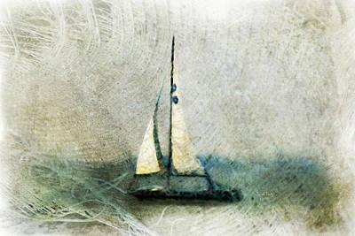 Mixed Media - Sailin' With Sally Starr by Trish Tritz