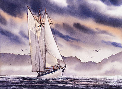 Sailing Adventure Art Print by James Williamson