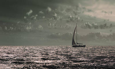 Photograph - Sailing by Akos Kozari