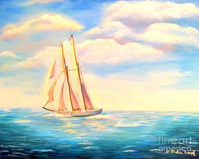 Painting - Sailing Away by Shelia Kempf