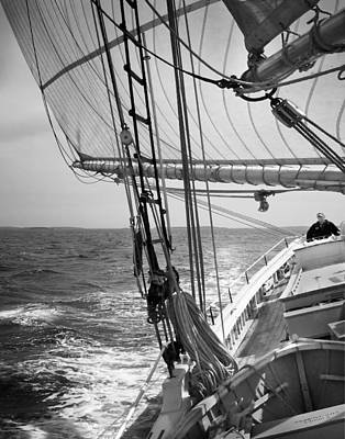 Photograph - Sailing Before The Wind by Mikael Carstanjen