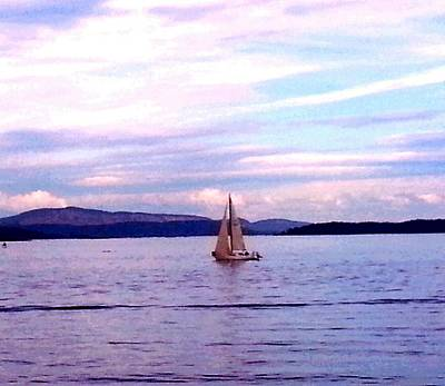 Photograph - Sailing Blue by Nikki Dalton
