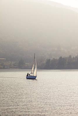 Photograph - Sailing Boat by Alfio Finocchiaro
