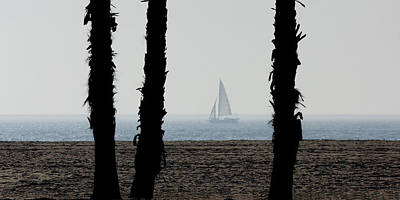 Photograph - Sailing By by Ernie Echols