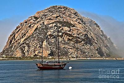 Photograph - Sailing By The Towering Rock by Adam Jewell