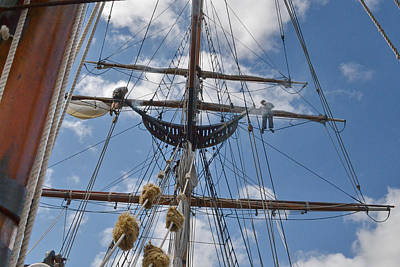 Photograph - Sailing High by Ansel Price