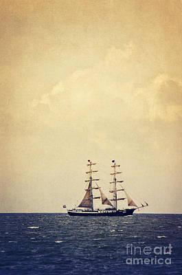 Sailing II Art Print by Angela Doelling AD DESIGN Photo and PhotoArt