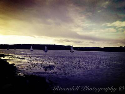 Sailing In Kinsale Art Print by Maeve O Connell