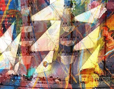 Digital Art - Sailing In Style by Catherine Lott