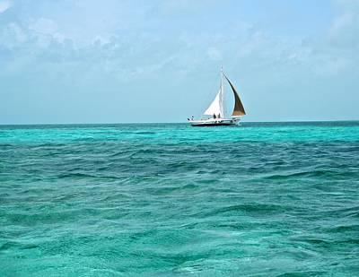 Photograph - Sailing In The Caribbean by Kristina Deane