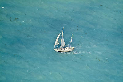 Photograph - Sailing In The Keys by Patrick M Lynch