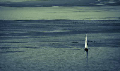 Photograph - Sailing Into Evening by Ronda Broatch