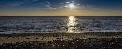 St Margaret Photograph - Sailing Into The Sunrise by Nigel Jones