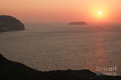 Photograph - Sailing Into The Sunset by David Birchall