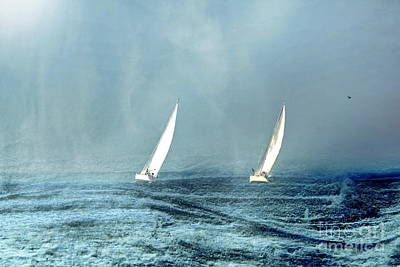 Sailing Into The Unknown Art Print