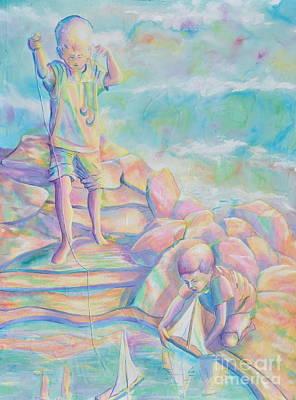 Painting - Sailing by Jaswant Khalsa
