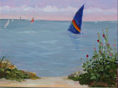 Painting - Sailing by Judy Fischer Walton