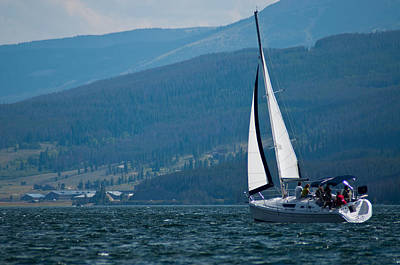 Photograph - Sailing Lake Dillon by Eric Rundle