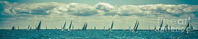 Photograph - Sailing Lake Huron by Ronald Grogan