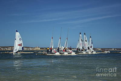 Photograph - Sailing Lessons by Amazing Jules