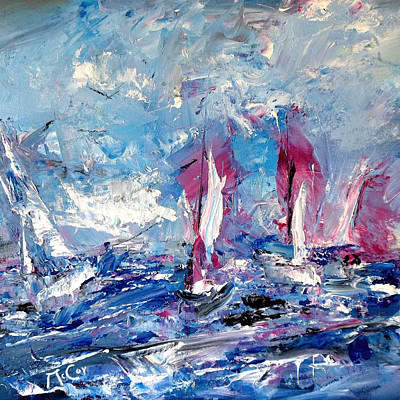 Painting - Sailing Magic by K McCoy