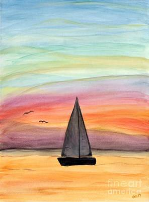 Sailing On A Summer Night Original