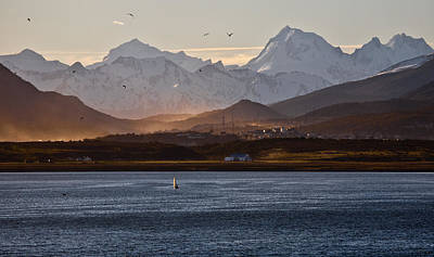 Sailing On The Beagle Channel Art Print