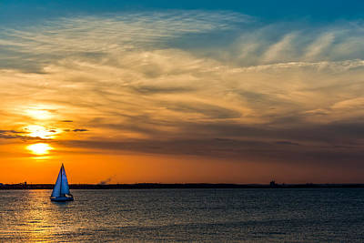 Sailing On The Chesapeake Art Print