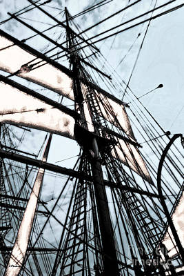 Star Of India Photograph - Sailing On The Star Of India 2 by Linda  Parker