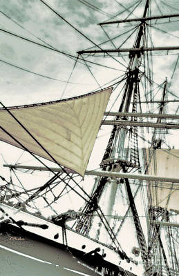 Star Of India Photograph - Sailing On The Star Of India 3 by Linda  Parker