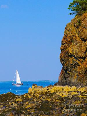 Photograph - Sailing - Portrait by Ernest Puglisi