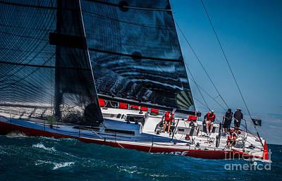 Photograph - Sailing by Ronald Grogan
