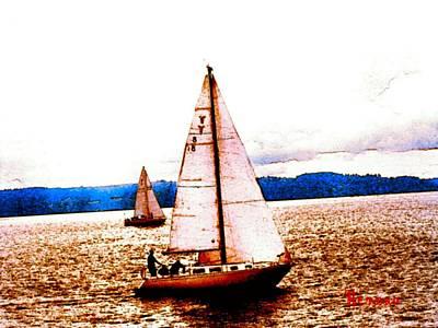 Photograph - Sailing Sailing - Over The Bounding Main by Sadie Reneau
